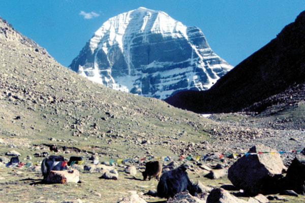 North face of Mt Kailash from another angle