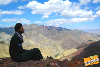 while on the expedition to Mt Stok Kangri
