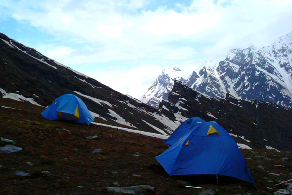 Base camp of Mt Shetidhar